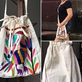 "Otomi Cross Body Bag ""Colores"""